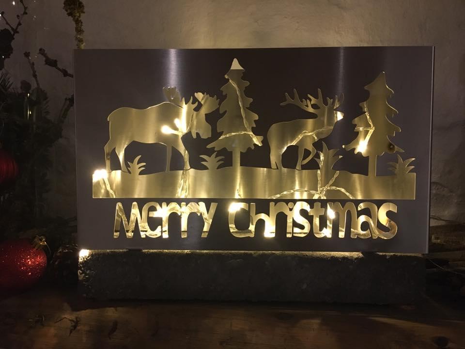 Merry Christmas lampe