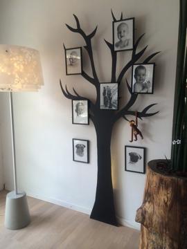 Vægdekoration Træ