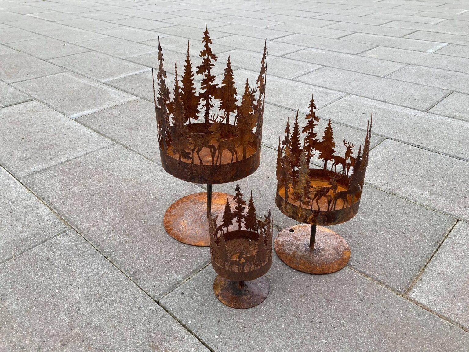 Hjorte i skov-opsats