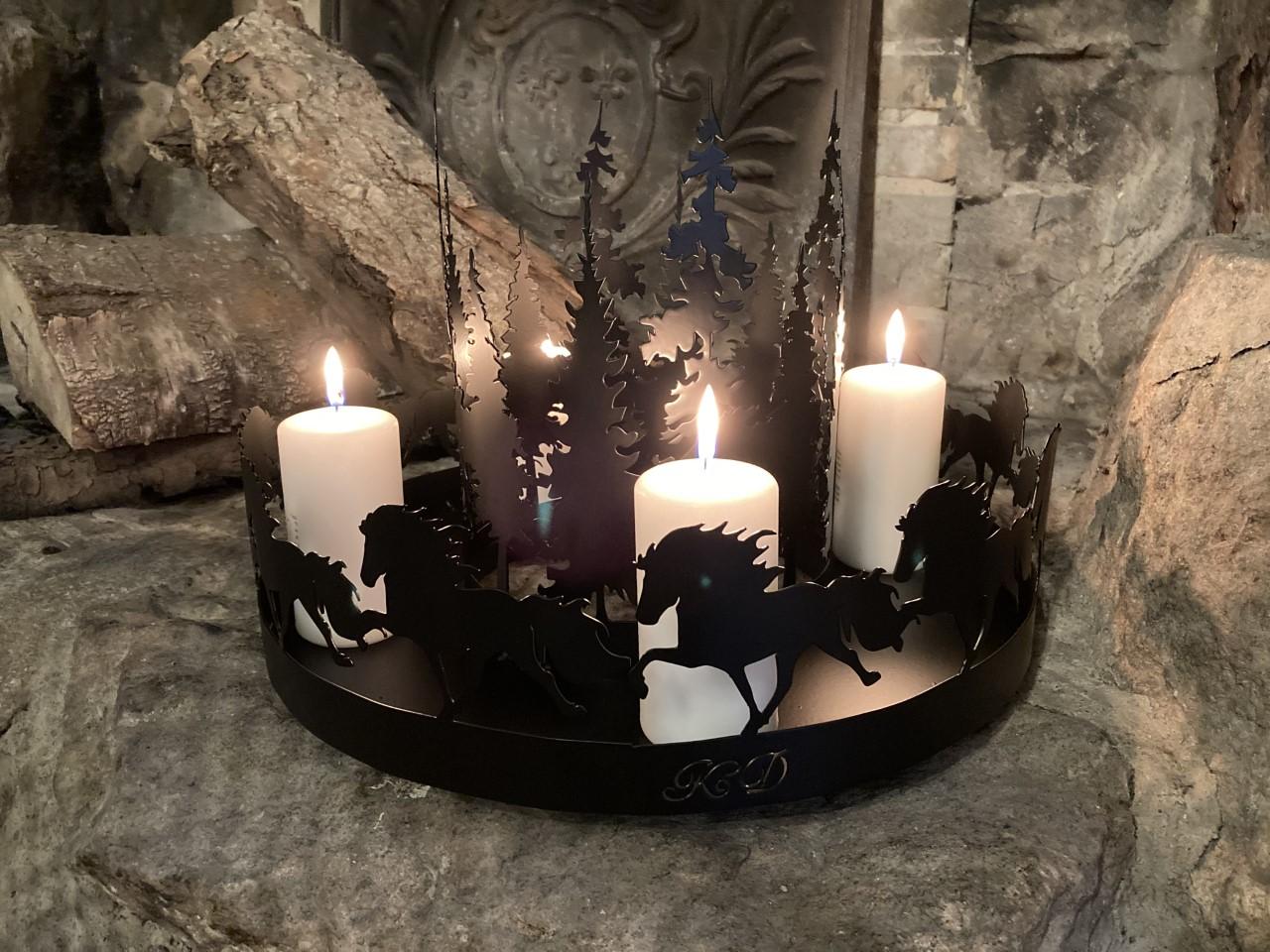 Adventskrans Islænder