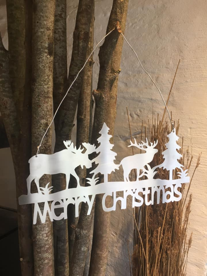 Merry Christmas skilt