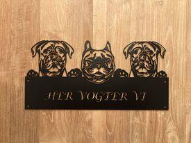 Her vogter vi 3 Dogue De Bordeaux & Fransk Bulldog