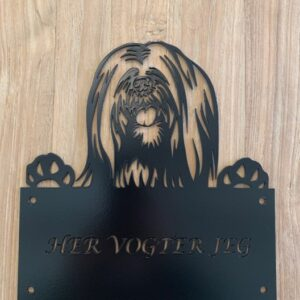 Her vogter Lhasa apso